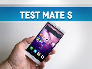 Test du Huawei Mate S