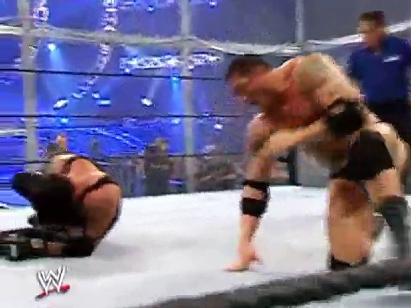 SURVIVOR SERIES 2007 HELL IN A CELL MATCH VF