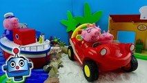 Peppa Pig Vacaciones en el mar Holiday by the Sea Playset - Juguetes de Peppa Pig