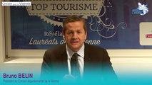 Bruno BELIN au Top Tourisme 2015