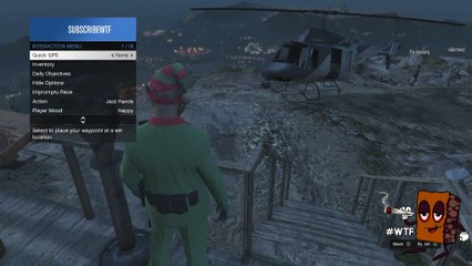 NEW GTA 5 GLITCHES - HAT MASK AND GLASSES GLITCH ON MOUNT CHILIAD PATCH 1.26/1.29 (GTA V GAMEPLAY)