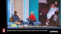 Brahim Zaibat évoque son enfance sans père et sa relation très complice avec sa mère