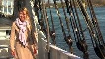 ha ha interview girl fell into sea