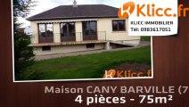 A vendre - CANY BARVILLE (76450) - 4 pièces - 75m²
