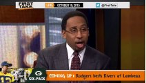 ESPN First Take Today (10 19 2015) - Cam Newton Lead Panthers Win Over Seahawks