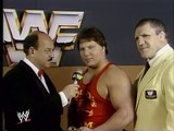 WWF Wrestlemania - Brutus Beefcake & David Sammartino Interview