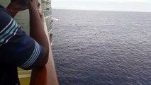 Cruise ship rescuing Cuban refugees Pt 2