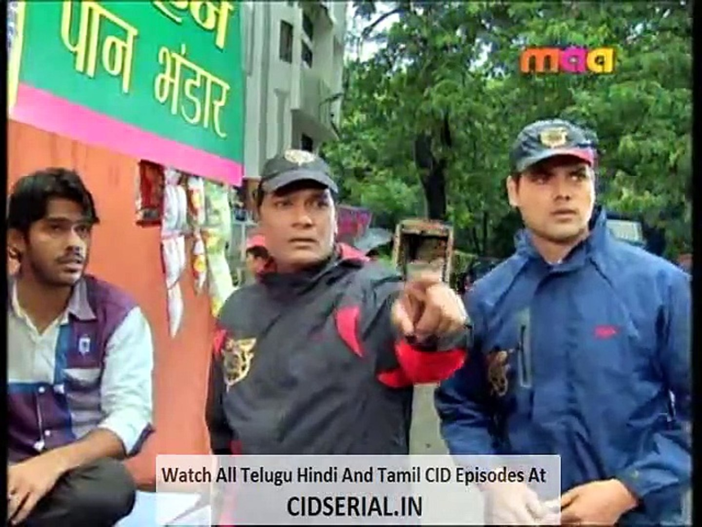 CID (Telugu) Episode 988 (14th - October - 2015) - Part 1
