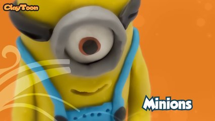 Minions - Polymer clay tutorial (HD)