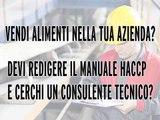 MANUALE AUTOCONTROLLO HACCP BAR GELATERIA PIZZERIA RISTORANTE ONLINE