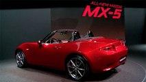 Mazda feiert in Paris 25 Jahre MX 5