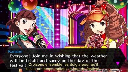 Persona 4 Dancing All Night : Kanami Trailer de Persona 4 : Dancing All Night