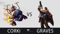 [Highlights] Corki vs Graves - Najin Ssol KR LOL SoloQ