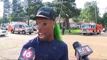 Green-haired witness gives perfect description of a police chase and accident