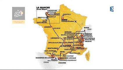 Présentation tracé Tour de France 2016