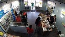 Une famille vole pour 1500$ de téléphones dans un magasin
