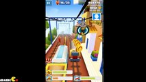 Subway Surfers - World Tour In Greece New Character Tagbot Space Outfit MY HIGHEST SCORE!