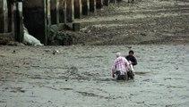 Héroe tailandés rescata a turistas atrapados en el lodo