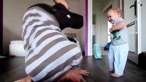 Un papa et son fils font une Battle de danse Hip Hop... Trop mignon