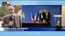 """Jakubowicz: Marine Le Pen """"remplace"""" les propos sur les juifs de son père par des propos sur l'islam"""