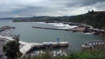 Paisaje y ambiente en la costa de Candás, Asturias 20 Oct