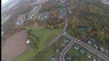 Accident - un parachutiste percute des lignes électriques