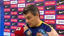 FCB Lassa (Handbol): Xavi Pascual valora la prèvia del Puente Genil - Barça Lassa [CAT]