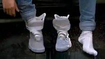 Les Nike de Marty McFly qui se lacent automatiquement dans Retour vers le futur 2