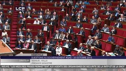 ZAD : Question de Yannick FAVENNEC à Manuel VALLS