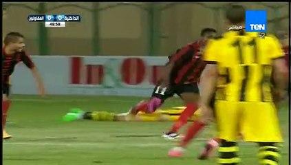 أهداف مباراة ( الداخلية - المقاولون ) 2-0 الدوري المصري موسم 2015-2016