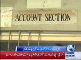 Karachi anti-corruption raid on Board Office 20th October 2015