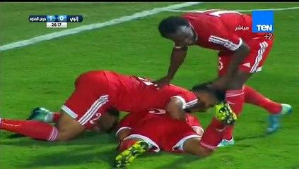 """أحمد رمضان """"بيكهام"""" لاعب حرس الحدود يحرز الهدف الأول في مرمى إنبي"""