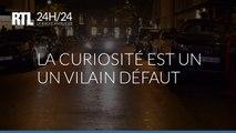 """La réplique de la fameuse DeLorean de """"Retour vers le futur"""" à RTL"""