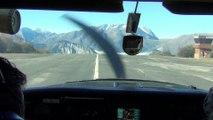 Départ de l'Alpe d'Huez en Cessna 182