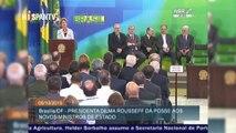 Enfoque - Brasil: Dilma lucha contra los intentos golpistas  La presidenta de Brasil, Dilma Rousseff, continúa defendién