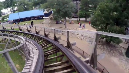 Zeus front seat on-ride HD POV @60fps Mt. Olympus Water & Theme Park