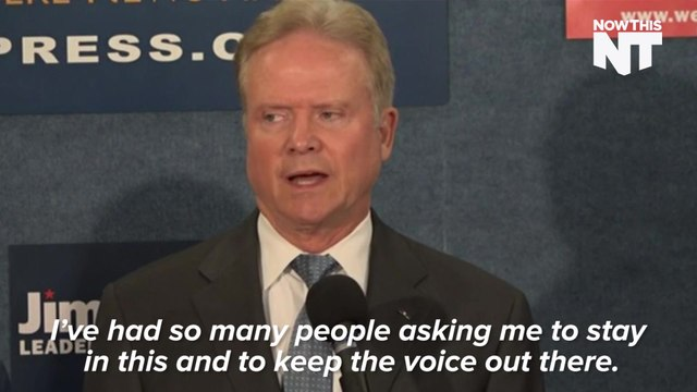 Jim Webb is Inexplicably Confident About His Chances As An Independent