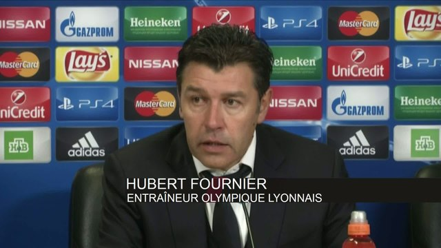 Foot - C1 - Lyon : Fournier «Pas le niveau pour les huitièmes»