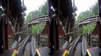 Thunderhead 3D front seat on-ride HD POV @60fps Dollywood