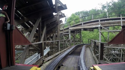Thunderhead front seat on-ride HD POV Dollywood