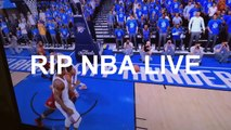 NBA LIVE 16 SUCKS RIP NBA LIVE, Glitches & Faces
