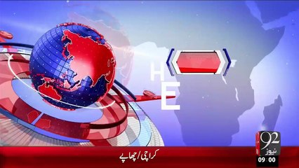 Headlines - 09:00 AM – 21 Oct 15 - 92 News HD