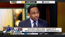 ESPN First Take Today (10 20 2015)- Mets look to take 2-0 series lead over Cubs in NLCS