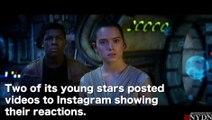 Star Wars : Le Réveil de la Force - Réactions John Boyega et Daisy Ridley - VO