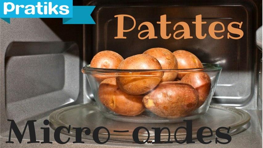 Cuire ses pommes de terre au micro-ondes - Gaël gagne du temps