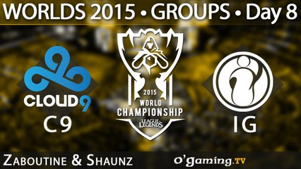 Cloud9 vs Invictus Gaming - World Championship 2015 - Phase de groupes - 11/10/15 Game 5