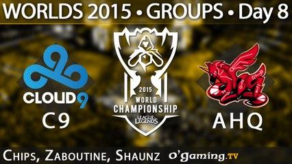 Cloud9 vs ahq e-Sports Club - World Championship 2015 - Phase de groupes - 11/10/15 Tie-breaker