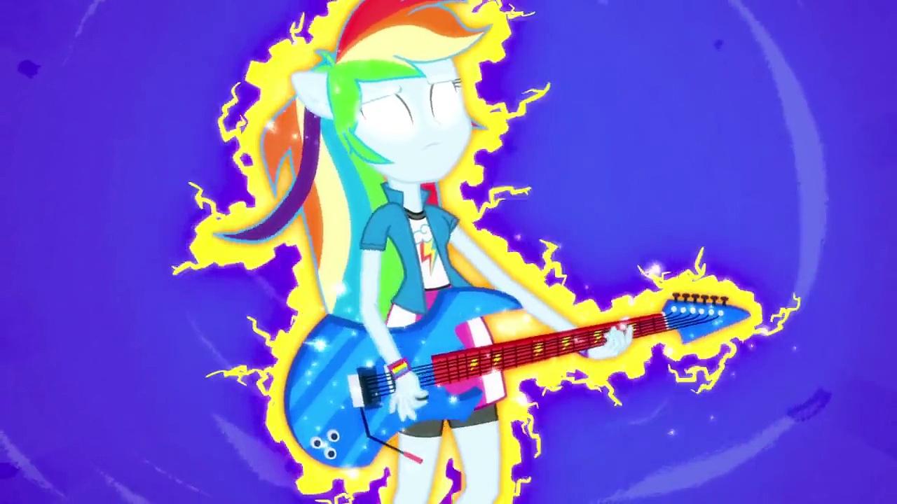 MLP: Equestria Girls Rainbow Rocks EXCLUSIVE Short Guitar Centered