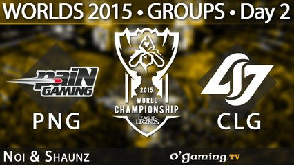 Pain Gaming vs Counter Logic Gaming - World Championship 2015 - Phase de groupes - 02/10/15 Game 6