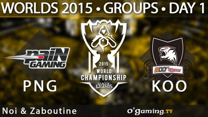 Pain Gaming vs Koo Tigers - World Championship 2015 - Phase de groupes - 01/10/15 Game 6